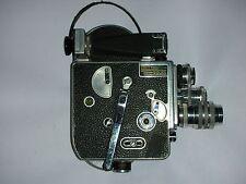 Paillard bolex caméra H16 | som berthiot f/1.5 17mm + f/1.5 25mm & f/3.5 75mm