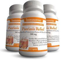 Psoriasis & Eczema Treatment - Immunotrax Psoriasis Relief Formula - 3 Pack