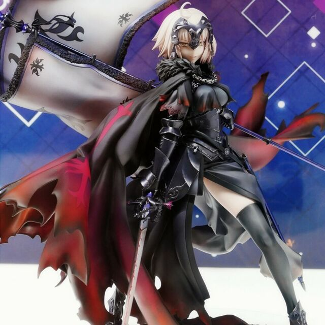 Fate Grand Order Black Jeanne d/'Arc Alter Joan of Arc Avenger Figurine Statue