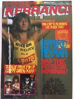 KERRANG MAGAZINE  NO 208  OCTOBER 8 1988  LEPPARD MESSIAH     LS