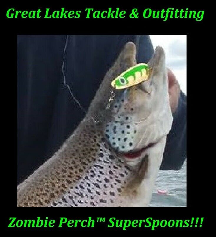 Zombie Perch™ -  Trophy Trout & Salmon Super Spoons   up to 50% off