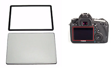 New Outer Screen LCD Glass for Canon EOS 6D Digital Camera Repair Part w/ Tape