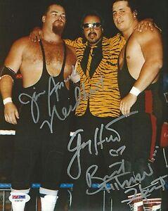 Jim-Neidhart-Jimmy-amp-Bret-Hart-Foundation-Signed-8x10-Photo-PSA-DNA-COA-WWE-WWF