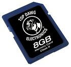 Top Dawg Electronics 8 GB SD Card Class 6! Brand New!