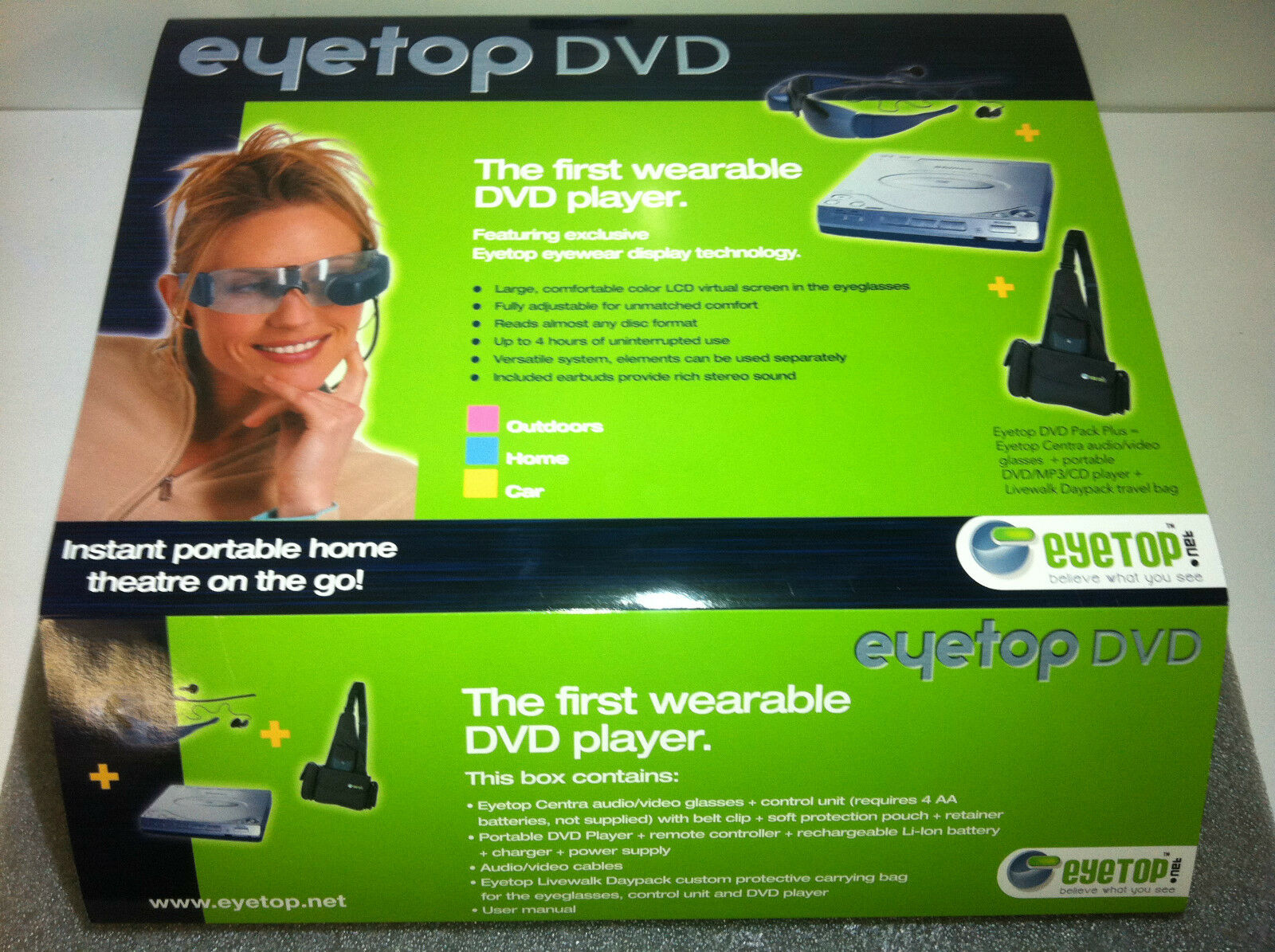 EYETOP RC FLYING FPV Glasses TFT Video Viewer DISPLAY VIEW LCD One Eye GOGGLES