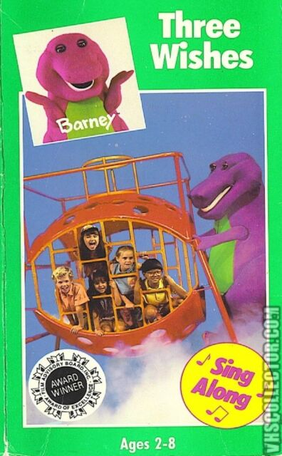 Barney Live! In New York City VHS Tape Classic Collection