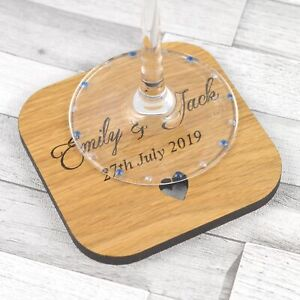 Personalised-Wedding-Table-Coasters-Rustic-Wooden-Favours-Placecards-Favors-Idea