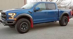 Image Is Loading Ford F 150 Raptor 2017 Mud Flaps By