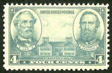 1937 OLD USA STAMP us civil war Robert e Lee, stonewall jackson MINT