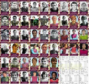 West Ham United 1960's Debuts Collection Football Trading cards Verzamelingen