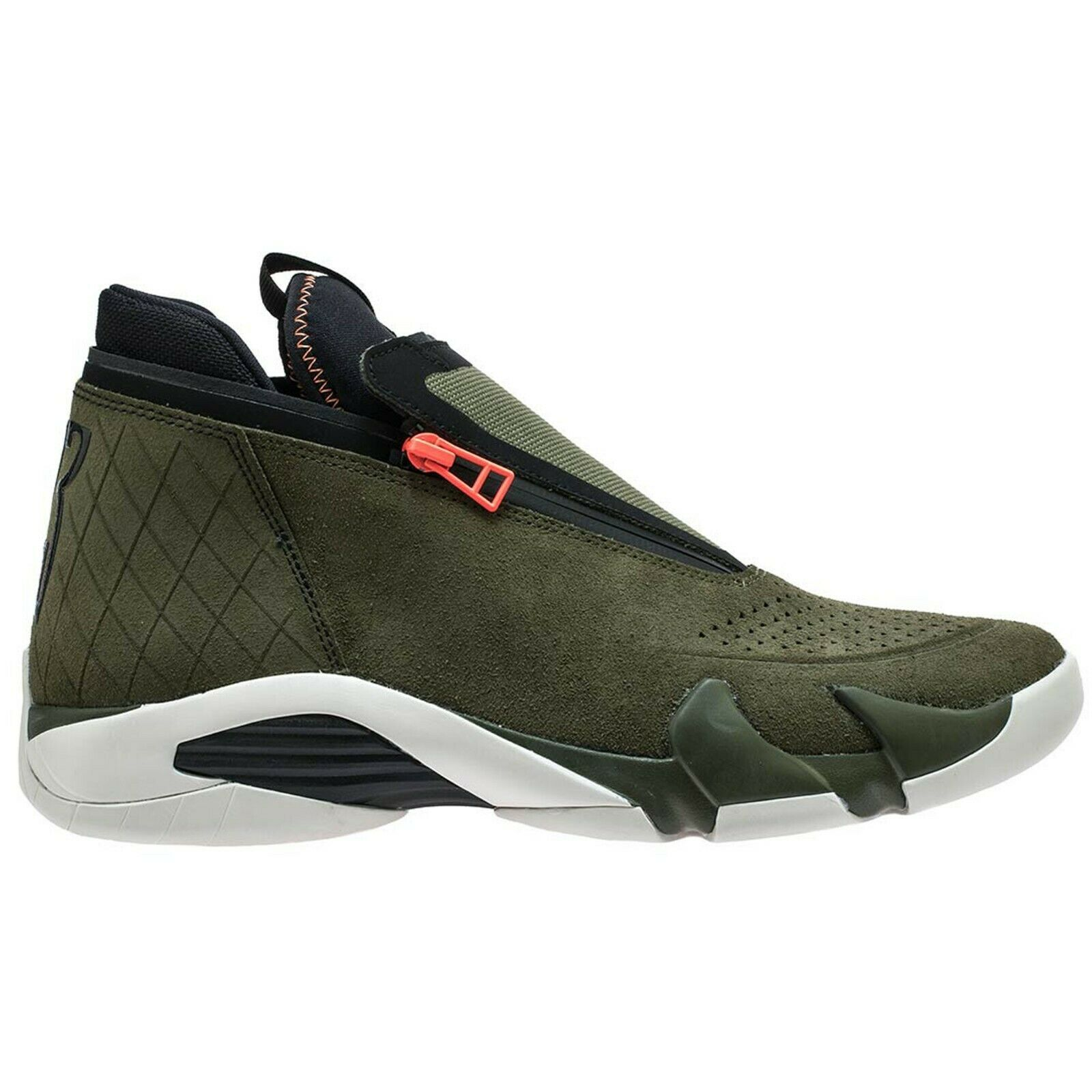 Air Jordan Jumpman Z Zip XIV Olive Grün Canvas Cone AQ9119-300 sz 8 New retro