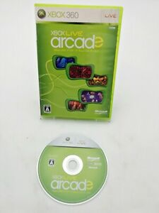 Microsoft Xbox 360 Live Arcade Japan Import