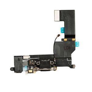 Lot-of-5-Apple-iPhone-SE-USB-Charging-Port-Dock-Audio-Headphone-Flex-Cable-Black