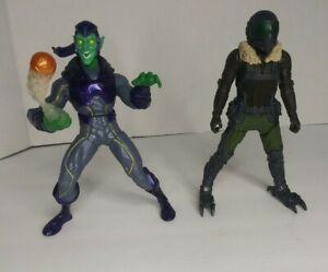Hasbro-Marvel-Spider-Man-Heimkehr-Film-Geier-amp-Green-Goblin-FIGURE-LOT-2