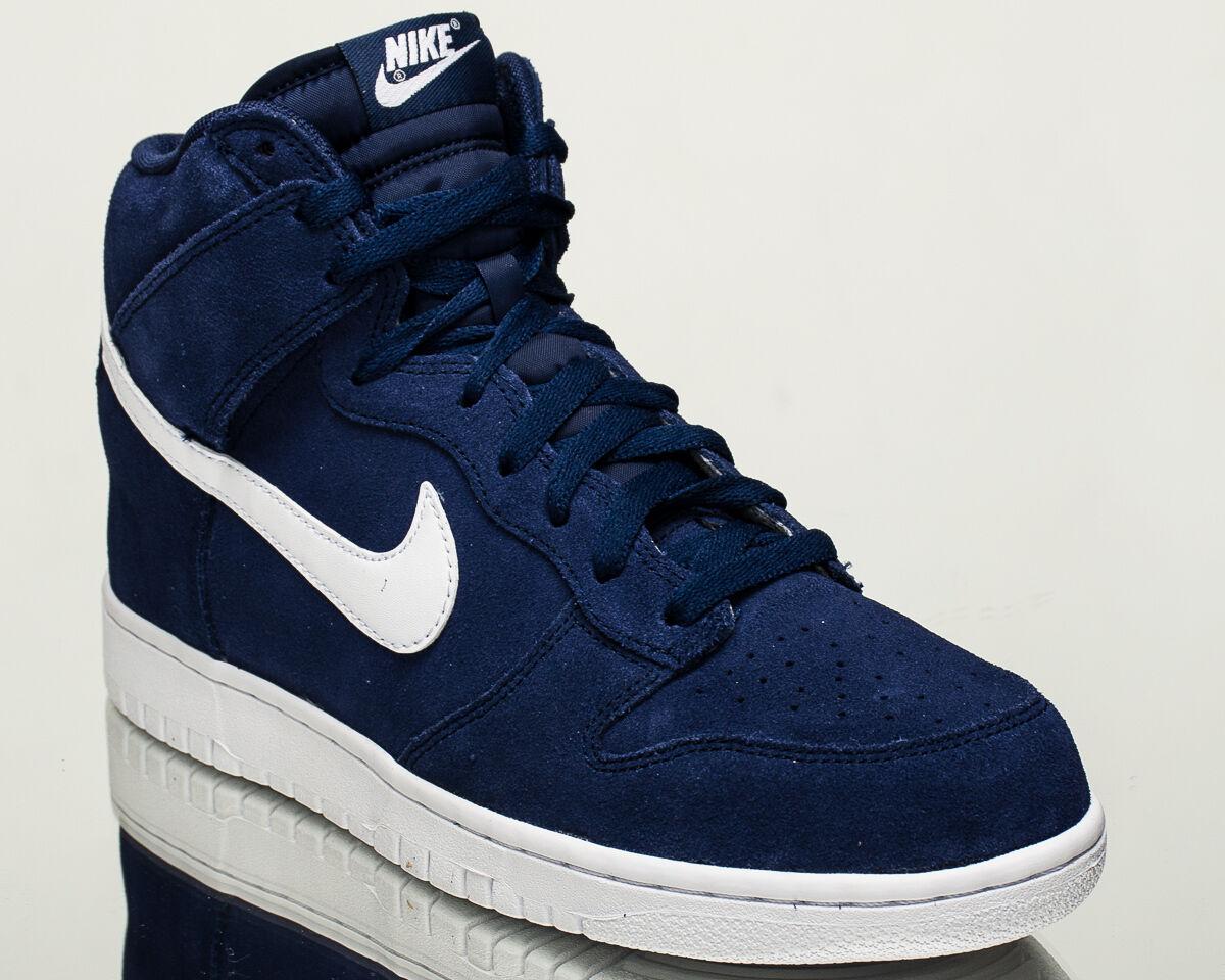 newest ab179 f037b Nike Dunk Hi Hombres Hombres Hombres Estilo de vida informal Tenis Nuevas  binario Azul Blanco 904233 Primero que nada y para ...