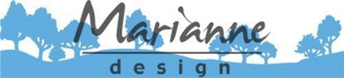 Marianne Design Creatables Horizon woodland LR0524 Stanzschablone