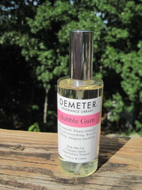 Demeter BUBBLE GUM 4 oz  Eau de Cologne Pick Me Up Spray tested slightly