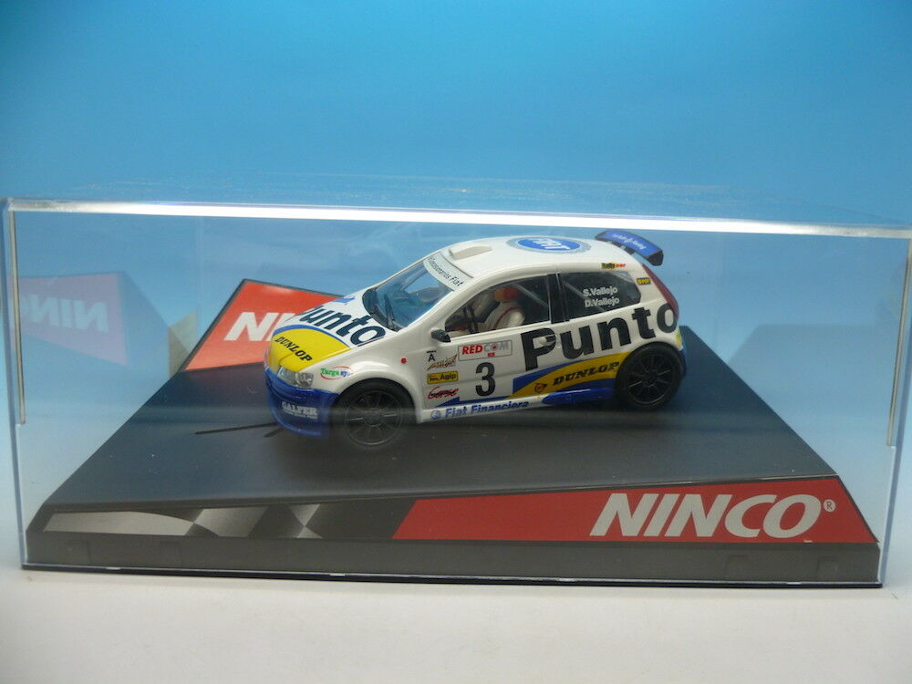 Ninco 50289 Fiat Punto Super 1600 S Vallejo, mint unused