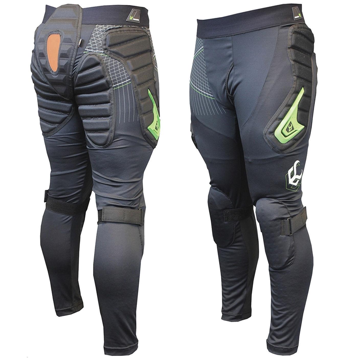 DEMON V2 - X D30 Long Padded Snowboard Pants   Hips, Bum & Knee Pads - DS1491