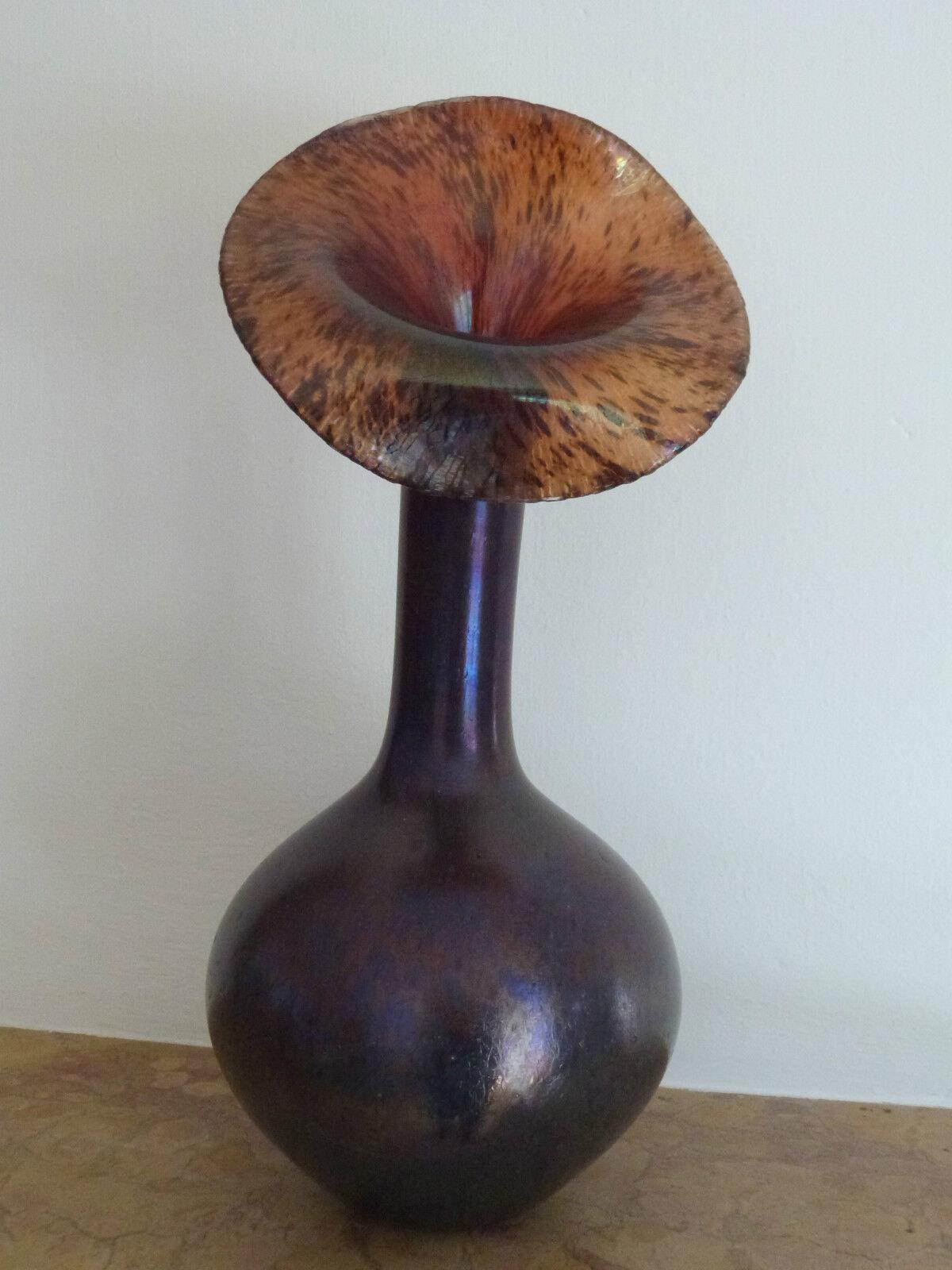 1 VASO 33cm serpenti collo vaso ornamentale da vaso rosanthal