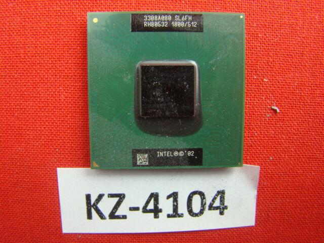 Intel Pentium 4-M SL6FH 1,8GHz/512KB/400MHz Base/Socket mPGA478B Mobile CPU