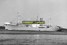 mc0731 - Russian Cargo Ship - Marshall Govorov , built 1939 - photo 6x4