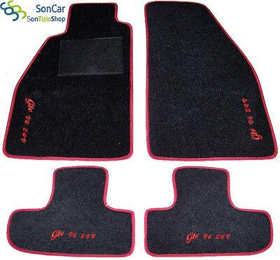 Decori Tappetini su misura 4 Block....26 ALFA ROMEO GTV V6 24V Tappeti AUTO