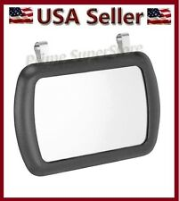 New Black Clip On Sun Visor / Vanity Mirror For Car /  Automobile