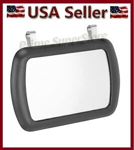 Deluxe Lighted Vanity Mirror Clip To Sun Visor : New Black Clip On Sun Visor / Vanity Mirror For Car / Automobile eBay
