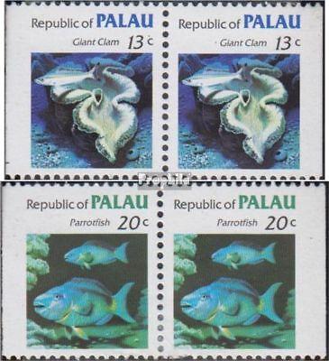 Generous Palau-islands 13dl/dr-14dl/dr Couples Unmounted Mint Stamps Never Hinged 1983 Clear B Fine Workmanship