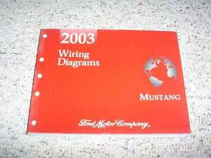image is loading 2003-ford-mustang-electrical-wiring-diagram-manual -convertible-