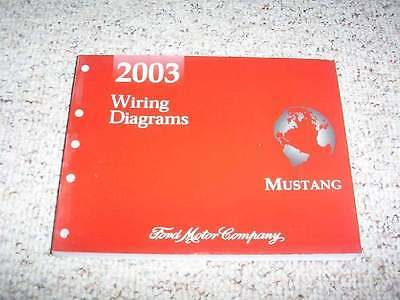 2003 Ford Mustang Electrical Wiring Diagram Manual ...
