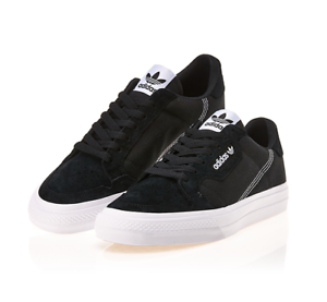 Details about New Adidas Originals Continental Vulc EF3524 - Black, Shoes  Slip On Sneakers