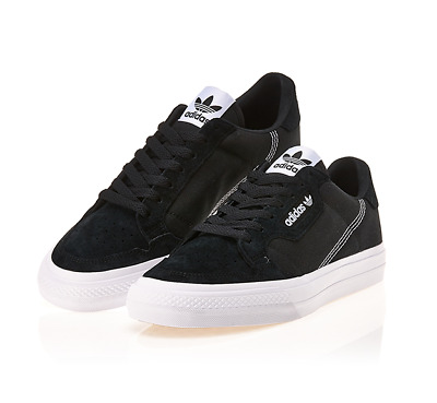 New Adidas Originals Continental Vulc EF3524 Black, Shoes Slip On Sneakers | eBay