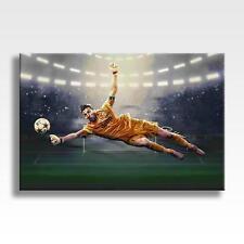 """Gianluigi BUFFON tela JUVENTUS FC Wall Art Poster in Tela 30x20"""""""