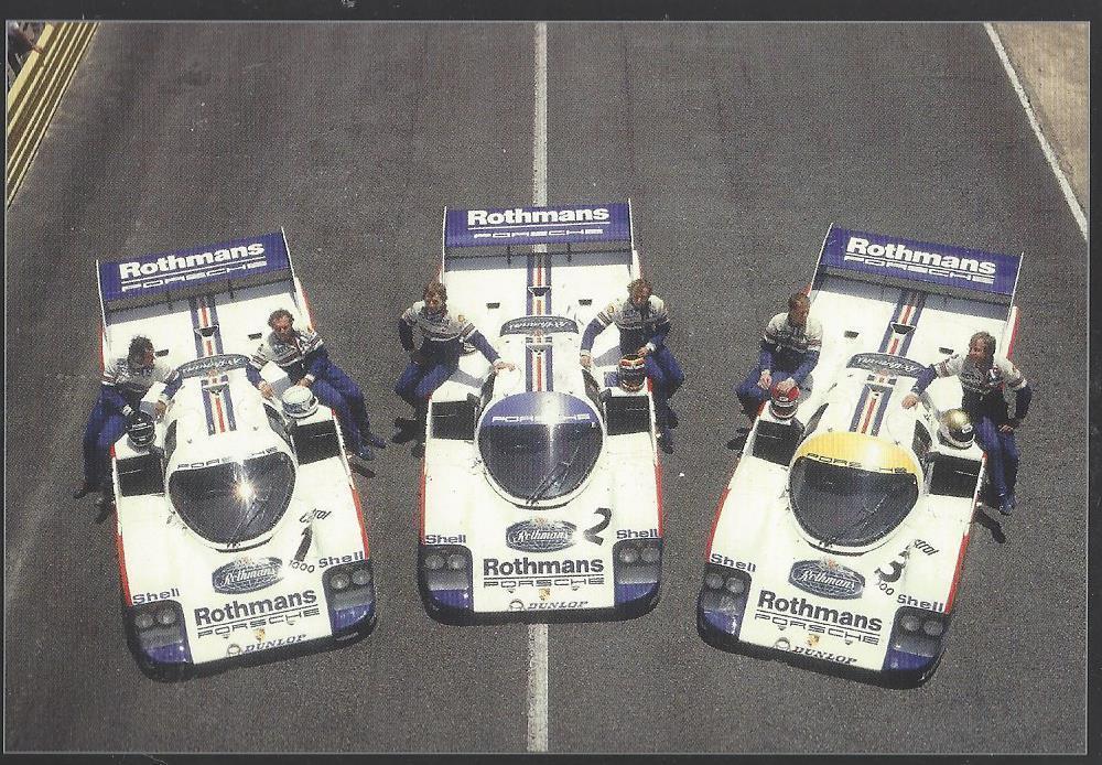 Porsche Porsche Porsche 956 Le Mans set rougehmans Ltd. musée Edition 1000 Brekina 1 87 NEUF da5c3a