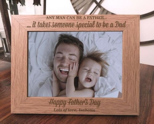 Personalised Father/'s Day Photo Frame  Fathers Day Gift Special Dad