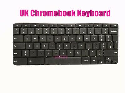 Original New For HP Chromebook 14 G3 14 G4 UK Black keyboard
