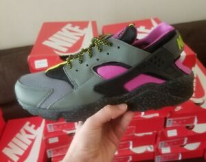 quality design fe532 7b955 Image is loading NIKE-AIR-HUARACHE-RUN-SU-SUPREME-GRAPE-AH9710002-