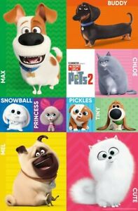 SECRET-LIFE-OF-PETS-2-CHARACTER-GRID-POSTER-22x34-MOVIE-17361