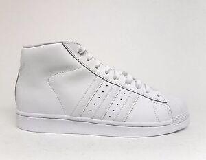 7429992a3f6 Adidas Men s ORIGINALS PRO MODEL Basketball Shoes White White AQ5217 ...