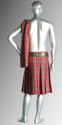 Tartan Scarf Without Scottish Kilt