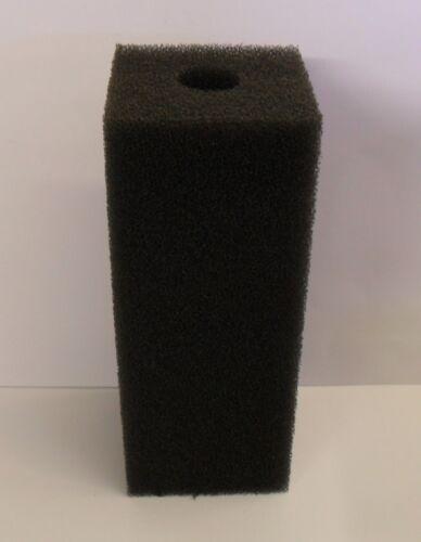 Grob Filter Schaum Blöcke 15.2cm,20.3cm,25.4cm,30.5cm Größe Gebohrt 30mm