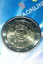 MONETA 2 EURO COMMEMORATIVA DELLA REPUBBLICA ITALIANA - 2002-2012 - UE - ITALIA