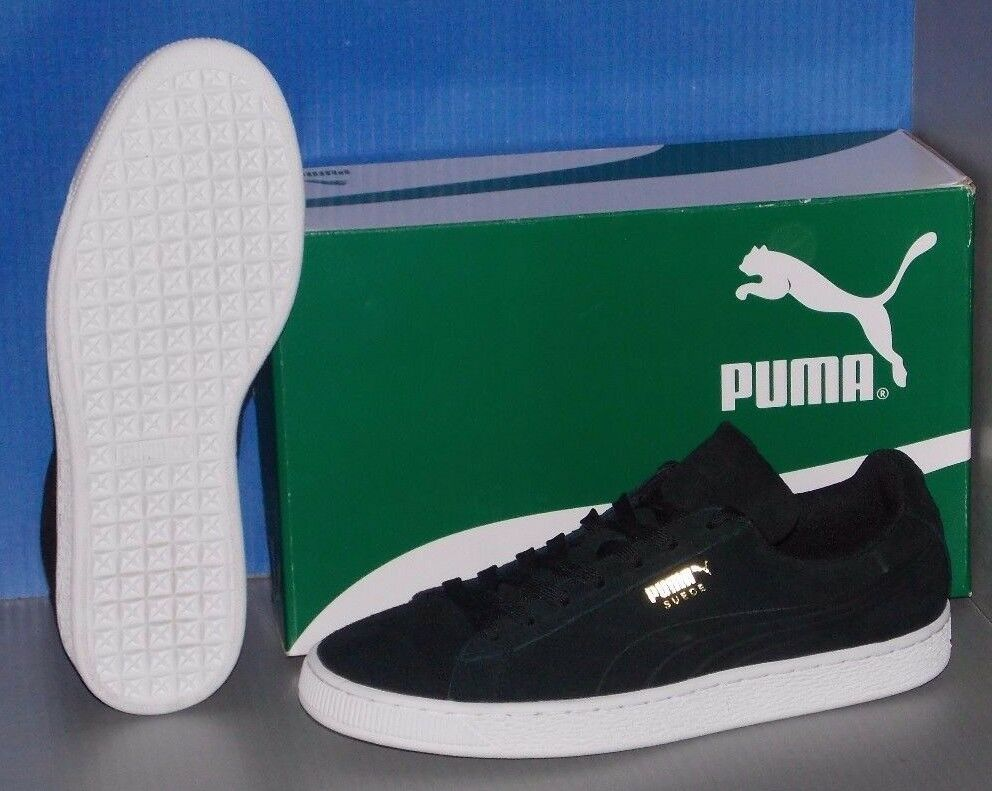 6ec794c1f89b PUMA Suede Classic Debossed Q3 36109704 Black Casual Shoes Medium (d ...