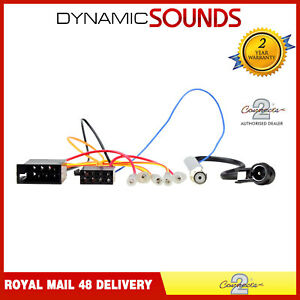 CT20VW07 Car Stereo ISO Wiring Harness Adaptor Lead for Audi Seat Skoda VW