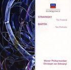 Stravinsky Firebird Bart¢k Two Portraits Australia CD