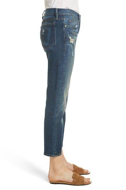 Neuf Avec Étiquettes Cadre Denim le garçon droite Richfield lboj 218 Jean pantalon boyfriend taille 28