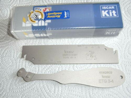 NEU Iscar TGFH 32-3 ETG 3-4 Stechhalter Stechschwert für TAG 3mm mit Rechnung