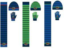 Turtles Winterset mit Mütze, Schal und Handschuhe für Kinder 3-10 Jahre Beanie